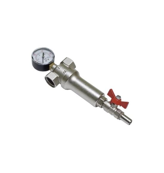 Промывной фильтр с манометром ALT-Z
