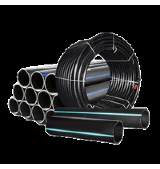 Питьевые полиэтиленовые трубы ПЭ-100 SDR 17
